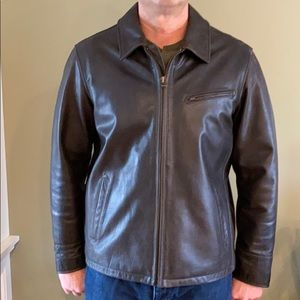 Men's Eddie Bauer Leather Jacket size Large